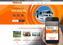 Screenshot do site Fabrilar