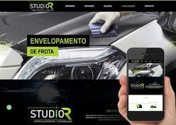 Screenshot do site STUDIO R