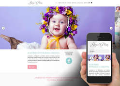 Screenshot do site Suzi Pires Fotografia